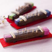 """ミニ琴""""極""""3個セット 有限会社たましげ 山口県 ずっとそばに置きたくなる、琴司が至高の技で仕上げた10cmの超ミニ琴"""
