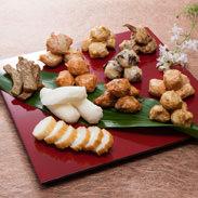 おつまみセット 六田竹輪蒲鉾企業組合 佐賀県 地元素材にこだわり、ひとつひとつ手作りの味でご家庭の食卓に彩りをそえます