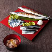 前浜ギフト「秋刀魚づくし」 ワイケイ水産株式会社 宮城県 生・スモーク・焼き・汁物など、女川を代表する味覚、さんま三昧セット
