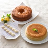 蒜山高原スイーツセット 新田菓子舗 岡山県 地元産の新鮮なジャージー牛乳をたっぷり使ったケーキとホワイトチョコのセット