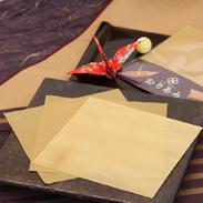 金網折り紙ORIAMI丹銅18センチ角〔8.6g×10枚〕<TV番組で紹介>