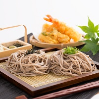 京蕎麦 半なま 味くらべ2種セット〔丹波ノ霧4人前・そば宝2人前・つゆ付〕