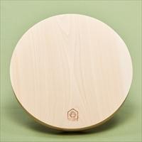 丹州桧 丸まな板 〔約直径30×厚さ3cm、重さ約400g〕 まな板 調理器具 台所用品 京都 CIPRESSO K