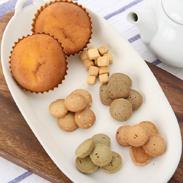 クッキー、マドレーヌ詰合せ〔クッキー5種、マドレーヌ5個〕