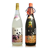 龍泉八重桜「紫の上」セット〔龍泉八重桜大吟醸1.8L×1、龍泉八重桜純米大吟醸1.8L×1〕