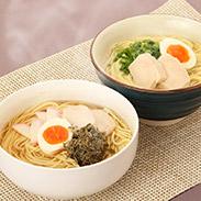 タラーメン10袋入〔醤油味(麺180g、スープ40g×2個)×5袋、塩味(麺180g、スープ40g×2個)×5袋〕