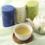 川根茶100g缶3本詰合せ〔煎茶まごころ1缶、煎茶藤じまん1缶、煎茶山の王冠1缶〕