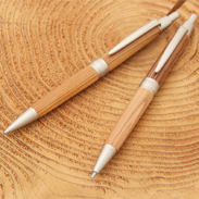 宍粟杉ボールペンとシャープペンのセット〔ボールペン1本、シャープペン1本〕