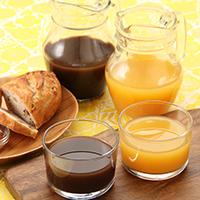 火の國屋オリジナル梅ジュース2本セット〔梅の力、搾ったまま果汁完熟梅・りんご(各1本)〕