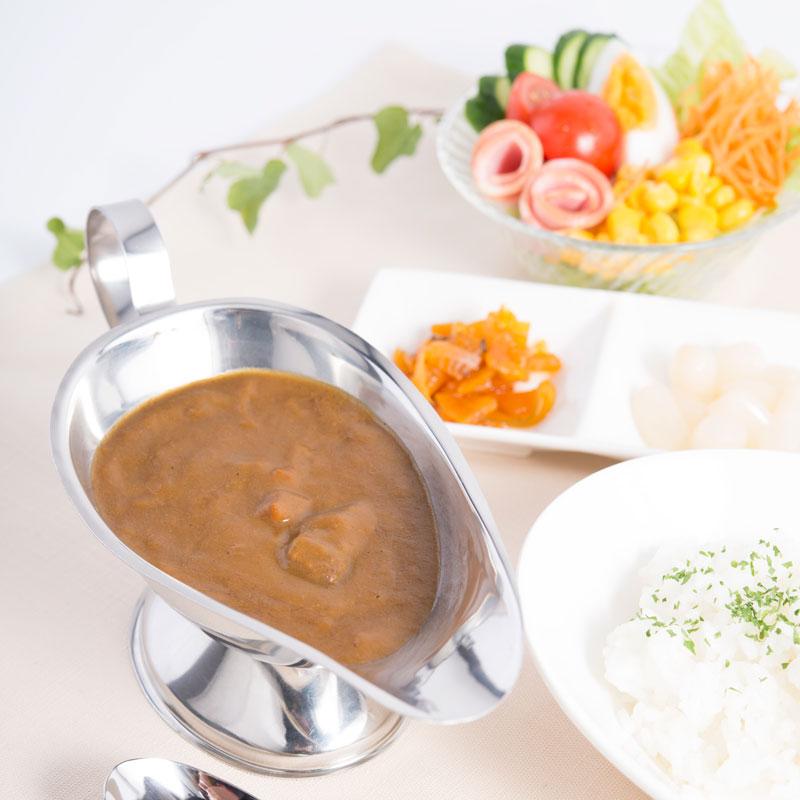 銘柄米とレストランカレーセット 6食〔米2合×2・カレー200g×6袋〕