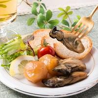 ひょうたん島苫屋 苫屋の貝燻製セットNS〔ホタテ燻製・牡蠣燻製・ムール貝燻製ほか全6種〕