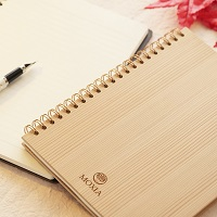 木のノート〔木のノート(本体)・化粧箱〕