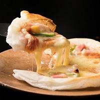 九州産もち米100%使用 もちピザシート 8枚〔約55g(2枚入)×4袋〕グルテンフリー フライパンでお手軽調理