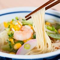 棒ラーメンスープ付き 8食〔麺146g(2食)×4・醤油スープ×4・ちゃんぽんス—プ×4〕