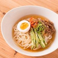 プチ 盛岡冷麺 4食 スープ付き〔なま冷めん100g×4・冷麺スープ45g×4〕