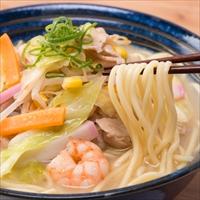 昔懐かしい中華そば 美味しいラーメン 築地の中華そば チャンポン 3食〔チャンポン麺×3〕