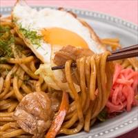 麺が美味しい生麺焼きそば 中華味焼きそば 6食 オタフク〔生中華麺100g×6・オタフクソース×6〕