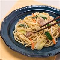 麺が美味しい上海焼きそば 中華味焼きそば 6食 上海〔中華麺100g×3・牡蠣油ソース×3〕