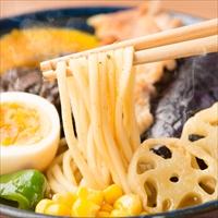 札幌スープカリーラーメン4食〔麺120g×4・スープ38g×4〕