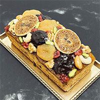 フルーツケーキ 〔約500g〕 熊本県 洋菓子 パティスリー太陽の下