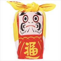 48福コチャエ 帯付 だるま アカ 〔48×48cm〕 風呂敷 日用品 東京 COCHAE