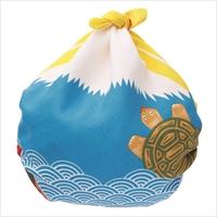 48福コチャエ 帯付 富士山 キイロ 〔48×48cm〕 風呂敷 日用品 東京 COCHAE