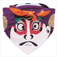 48福コチャエ 帯付 歌舞伎 クロ 〔48×48cm〕 風呂敷 日用品 東京 COCHAE