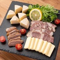 チーズと肉のスモークセット 〔燻製おつまみ4種〕 秋田県 燻製 岩城の燻製屋チャコール