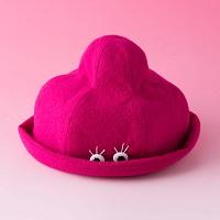 帽子屋UKIYO 1歳から4歳くらいのお子様に キュートな子ども用オリジナルハット ポニュハット〔帽子×1〕