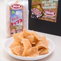 タクエツ 福井名産小麦菓子 塩味だけの軽い食感 小麦チップス えい坊チップス 5個セット〔50g×5〕