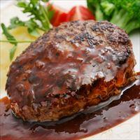 落合務監修 牛肉100%ハンバーグ 黒トリュフソース〔ハンバーグ150g×6・ソース180g×1〕【沖縄・離島 お届け不可】