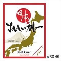 curry king監修 ビーフカレー 日本のおいしいカレー 30個〔200g×30〕