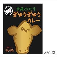 広島ご当地カレー 国産ブランド牛肉ビーフカレー 世羅みのり牛ぎゅうぎゅうカレー 30個〔200g×30〕