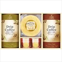 cafe etoile 澤井珈琲 香り高きカフェタイムセットA〔ドリップコーヒー2種×各5・洋菓子2種全7個〕