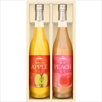 美食ファクトリー よりどり果実の味わい(NFJシリーズ)A〔りんご・もも×各1〕