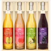 美食ファクトリー よりどり果実の味わい(NFJシリーズ)C〔りんご・もも・ラフランス・ぶどう×各1〕
