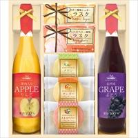 美食ファクトリー フルーツ100%ジュース&スイーツセット(JRシリーズ)C〔全7種×各1〕