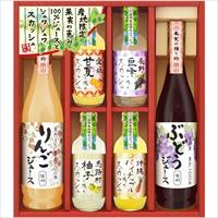 美食ファクトリー 100%ジュース&果汁入りスカッシュ(NJSシリーズ)C〔全6種×各1〕