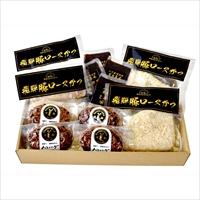 飛騨豚の味噌かつ&キッチン飛騨 飛騨牛入りハンバーグ(MTKシリーズ)A