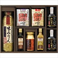 味道楽 NJI-50 〔醤油2種、味噌2種、ドレッシング2種、ケチャップ、みりん〕 調味料詰め合わせ 飛騨高山ファクトリー