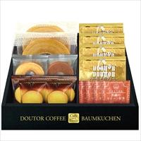 ドトールコーヒー&バウムクーヘンセット HRDB-25 〔ドトールドリップコーヒー×4 ほか全5種計17個〕 ドリンク 洋菓子 Cafe Etoile