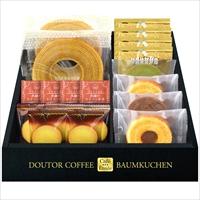 ドトールコーヒー&バウムクーヘンセット HRDB-30 〔ドトールドリップコーヒー×4 ほか全7種計19個〕 ドリンク 洋菓子 Cafe Etoile