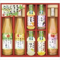 産地くだもの厳選 こだわり飲料とフルーツ炭酸セット RJS-50 〔全7種各1〕 ジュース 美食ファクトリー