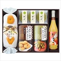 信濃屋清風堂 セレクトスイーツセット SSE-30 〔りんごジュース、焼きドーナッツ、かりんとう ほか全6種〕 洋菓子 ジュース