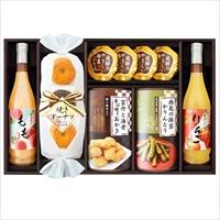 信濃屋清風堂 セレクトスイーツセット SSE-50 〔りんごジュース、焼きドーナッツ、かりんとう ほか全7種〕 洋菓子 ジュース コーヒー
