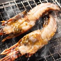 水谷水産 海鮮6種のBBQセット〔伊勢海老・サザエ・岩牡蠣・スルメイカ・ホタテ貝・はまぐり〕
