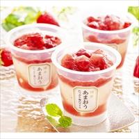 父の日ギフト 博多あまおう たっぷり苺のアイス F-A-AT5 〔74ml×5〕 アイス 洋菓子