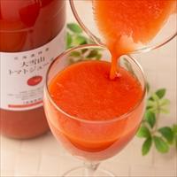 北海道特産 大雪山トマトジュース 無塩 〔1kg×3〕 無添加 野菜ジュース バイオアグリたかす