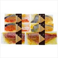 祇園さゝ木 西京漬け 〔銀だら・銀鮭 各70g×2、赤魚120g×2〕 漬け魚 冷凍総菜