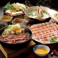 宮崎県産黒毛和牛すき焼き肉とおいも豚しゃぶしゃぶ肉 〔和牛もも肉200g、豚ロース・バラ各200g〕 牛肉 豚肉 冷凍